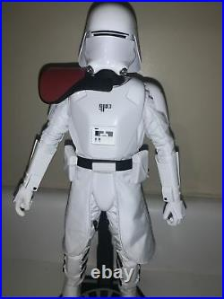 1/6 Hot Toys MMS First Order Officer Snow trooper Incomplete. No Reserve