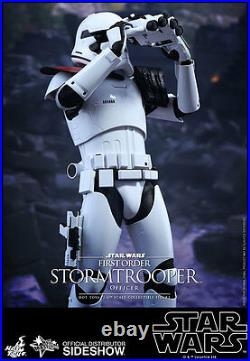 12 Star Wars First Order Stormtrooper Officer Hot Toys 902603 In Stock