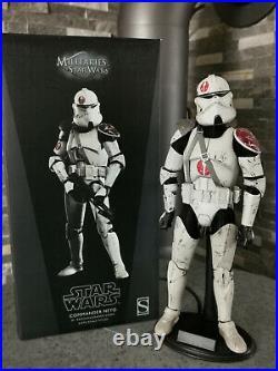 16 Star Wars Clone Trooper Commander Neyo Order 66 (Sideshow)