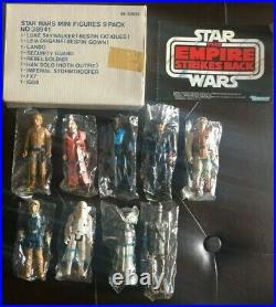 1980 Star Wars ESB Sears Exclusive Catalog Mail-Order Figure 9-Pack 49-59035 MIB