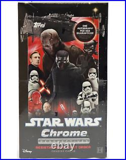 2020 Topps Star Wars Chrome Perspectives Resistance Vs. First Order Hobby Box