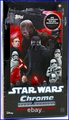 2020 Topps Star Wars Chrome Perspectives Resistance Vs The First Order Box