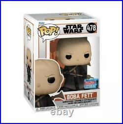 2021 Official Nycc Con Sticker Star Wars Mandalorian Boba Fett Confirmed Order