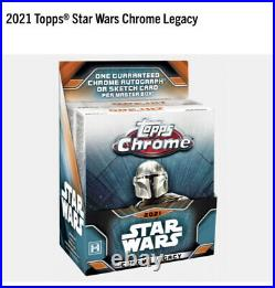 2021 Topps Chrome Star Wars Legacy Box CONFIRMED PRE-ORDER! FACTORY SEALED