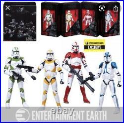 6x Star Wars Black Series Order 66 Clone Trooper Multi Pack Entertainment Earth