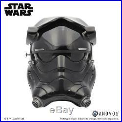 ANOVOS Star Wars The Force Awakens First Order TIE Fighter Pilot Helmet Premier