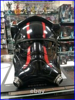 Anovos Star Wars TFA First Order Special Forces Tie Pilot Helmet 11 Replica HTF