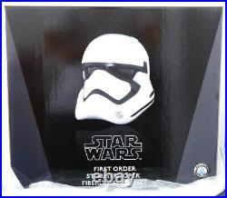 Anovos Star Wars The Force Awakens First Order Fiberglass Stormtrooper Helmet