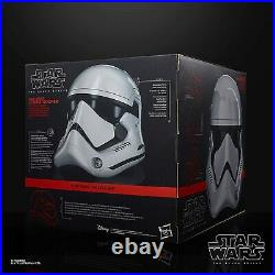 Black Series Stormtrooper 1st Order Star Wars Helmet 11 Plus Custom Plaque