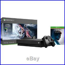 Brand New Microsoft Xbox One X 1TB Console Star Wars Jedi Fallen Order Bundle