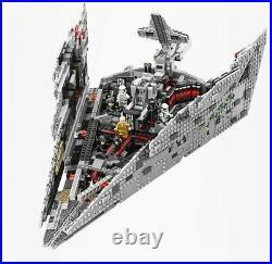 Bricks Starwars Destroyer First Blocks Toys Building Figures Order Model Pieces