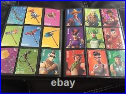 Complete Fortnite Trading Card Set In Order With Extras 42 Cracked Ice 22 Holo
