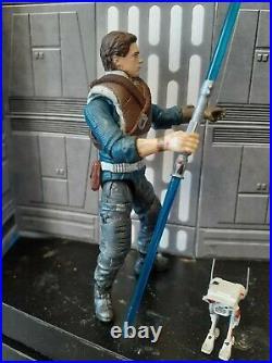 Custom Star Wars 3.75 Cal Kestis Jedi Fallen Order TVC Figure gaming greats