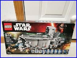 Factory Sealed Lego Star Wars First Order Transporter 75103 NIB