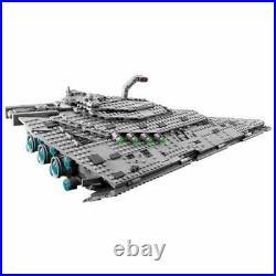 First Order Star Destroyer 75190 Star Wars Equivalent Lego Vaisseau Spatial Rare