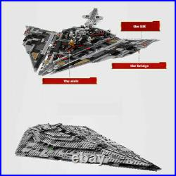 First Order Star Destroyer Building Blocks Compatible Lego With Star Wars Bricks