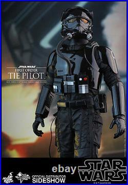 First Order TIE Fighter Pilot Star Wars Episode VII MMS324 12 Figur Hot Toys