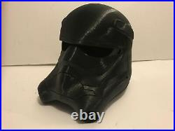 First Order Tie Fighter Helmet Star Wars Rogue One Last Jedi Armor Suit