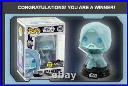 Funko Pop! STAR WARS Obi Wan Kenobi Glow In The Dark PRE-ORDER CONFIRMED