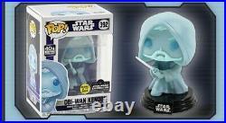 Funko Pop! STAR WARS Obi Wan Kenobi Glow In The Dark PRE-ORDER CONFIRMED LE 3000