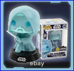 Funko Pop! STAR WARS Obi Wan Kenobi Glow In The Dark PRE-ORDER READ Below