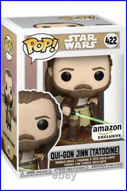 Funko Pop! Star Wars Across The Galaxy Qui-Gon Jinn (Tattooine) (PRE ORDER)