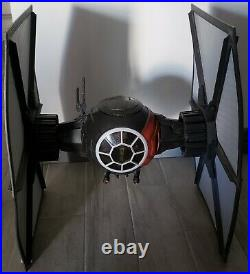 Giant Large First Order Special Forces Tie Fighter 01 STAR WARS Black Series