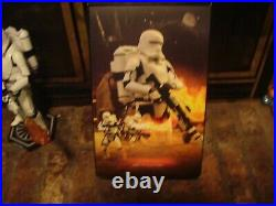 HOT TOYS 12 inch first order Flametrooper Force awakens