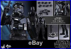 HOT TOYS MMS324 STAR WARS FIRST ORDER TIE FIGHTER PILOT New MIB 1/6 SCALE