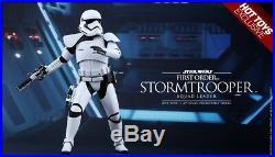 HOT TOYS Star Wars First Order Stormtrooper Squad Leader (New)