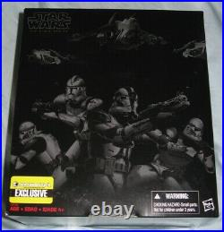 Hasbro Star Wars Black Series 6 Order 66 Entertainment Earth exclusive new