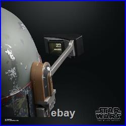 Hasbro Star Wars Black Series Boba Fett Premium Electronic Helmet Pre Order