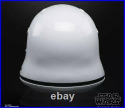 Hasbro Star Wars Black Series First Order Stormtrooper Premium Helmet In Stock