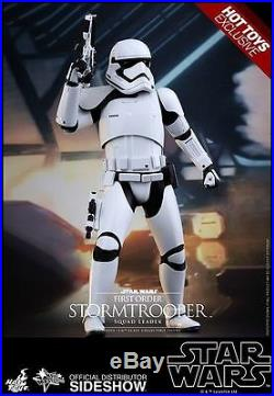 Hot Toys 1/6 Scale First Order Stormtrooper Collectible Figure New Just Out