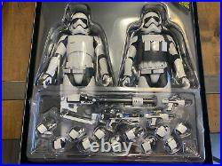 Hot Toys 16 Star Wars Tfa Movie Masterpiece First Order Stormtroopers Mms319