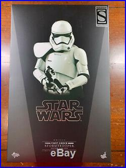 Hot Toys MMS316 First Order Stormtrooper Squad Leader 1/6 Scale Figure Sideshow