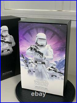 Hot Toys MMS321 SNOWTROOPER Star Wars Ep 7 First Order Preowned