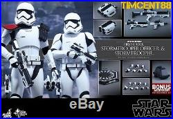 Hot Toys MMS335 Star Wars The Force Awakens First Order Stormtrooper officer set