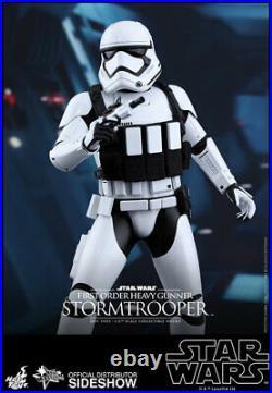 Hot Toys Mms318 Star Wars First Order Heavy Gunner Stormtrooper 16 Figure New