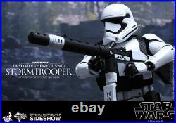 Hot Toys Mms318 Star Wars First Order Heavy Gunner Stormtrooper 16 Figure New