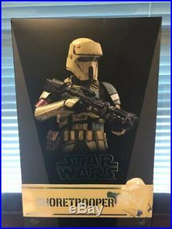 Hot Toys Mms389 Star Wars Shoretrooper With Bonus Pre-order Backdrop
