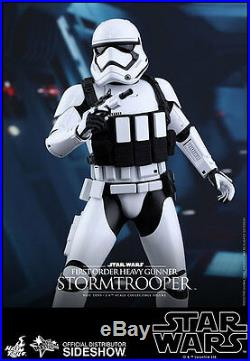 Hot Toys Star Wars FIRST ORDER HEAVY GUNNER STORMTROOPER Action Figure 1/6 Scale
