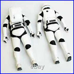 Hot Toys Star Wars First Order Stormtrooper 1/6th Scale Figure Pair