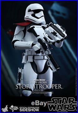 Hot Toys Star Wars Force Awakens FIRST ORDER STORMTROOPER OFFICER 12 Figure 1/6