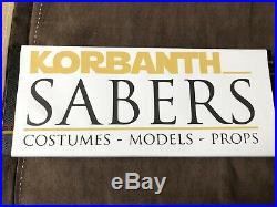 Korbanth 89Sabers Empty FallenV2 Jedi Order Star Wars Lightsaber Hilt Weathered
