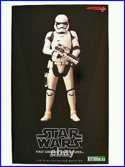 Kotobukiya Star Wars TFA First Order Stormtrooper 110 Scale ArtFX+ Statue