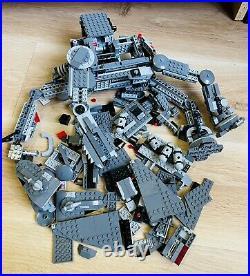 LEGO STAR WARS First Order Heavy Assault Walker 75189 Incomplete Set