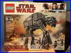 LEGO Star Wars First Order Heavy Assault Walker 2017 75189 Sealed