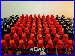 LEGO Star Wars First Order Sith Army HUGE Minifigure Lot 120 Minifigures