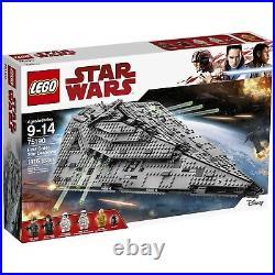 LEGO Star Wars First Order Star Destroyer 2017 (75190)